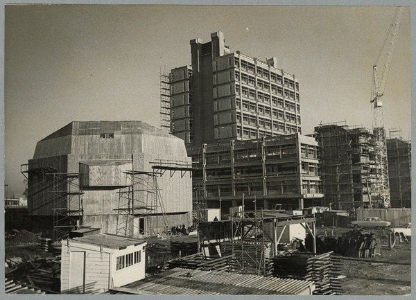 Construction of university buildings