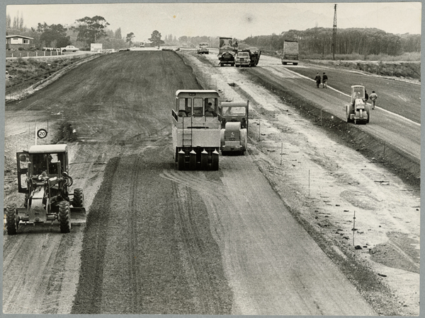 Motorway construction
