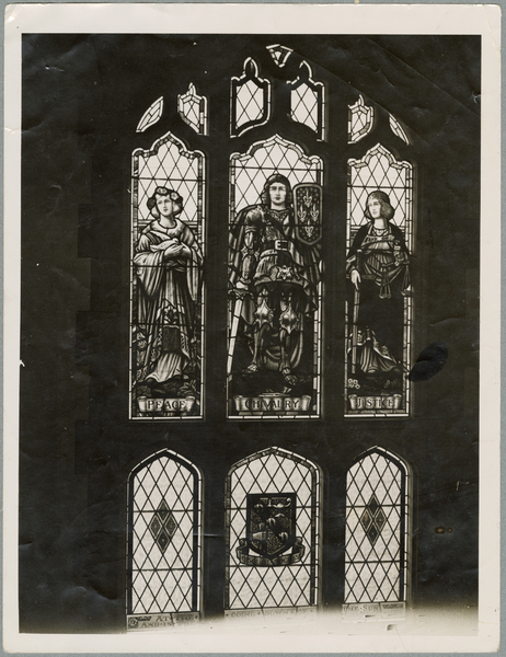 Memorial window at the Christchurch Teachers College