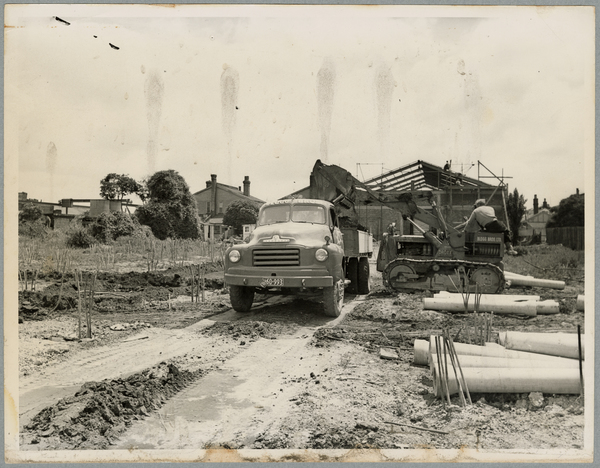 Preparing foundations for Christchurch Star building