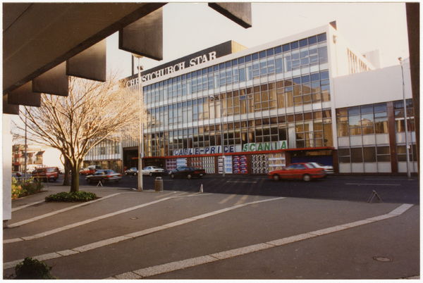 The Christchurch Star building