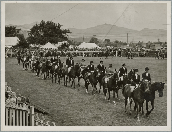 Grand parade at Christchurch Show
