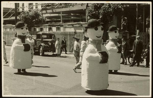 Snowmen, Hay's Ltd Christmas pageant