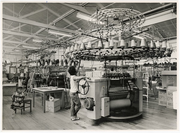 Wool machine, Lane Walker Rudkin