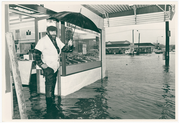Image of Flooded butchery, Edgeware