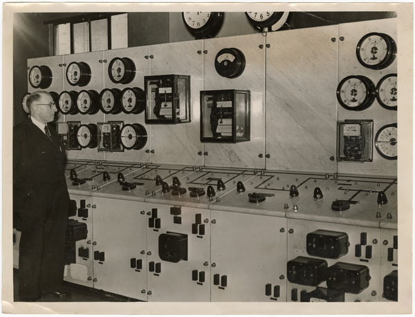 Municipal Electricity Department control room