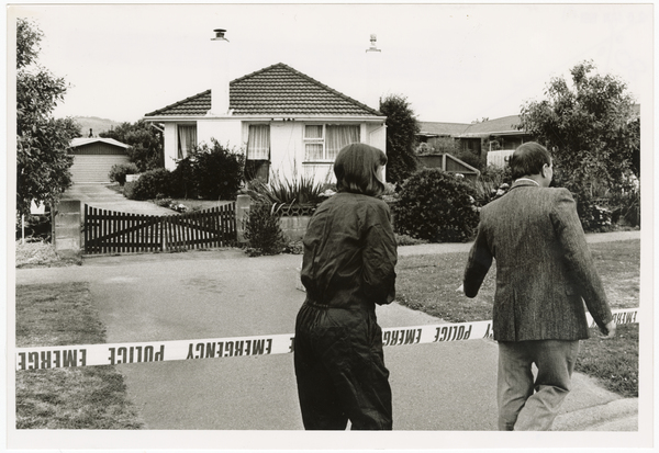 Bomb attack at 149 Halswell Road