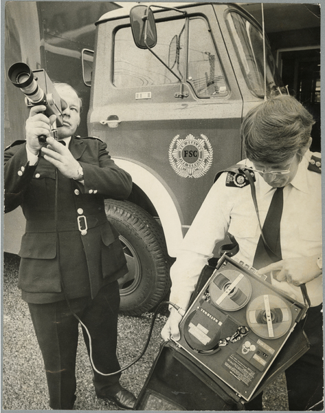 Christchurch Fire Brigade camera equipment