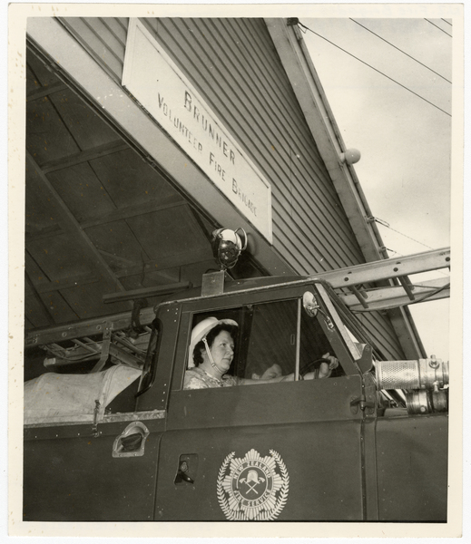 Nancy Wylie, volunteer firefighter