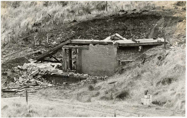 Explosives store, Cass Bay