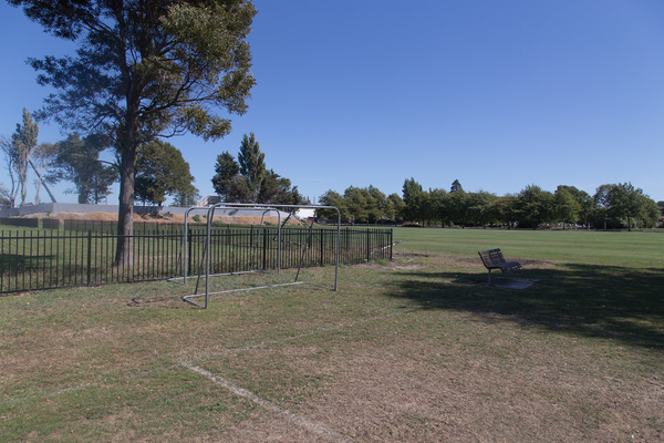 Halswell Domain football field