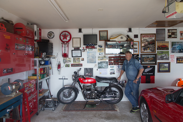 Garage in a house in Halswell