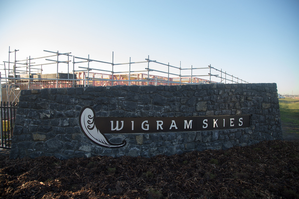 Wigram Skies entrance