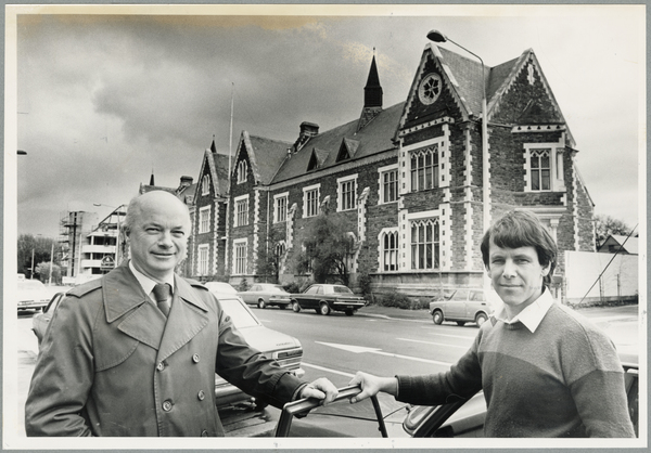 Jonty Rout and David Sheppard at Cranmer Court