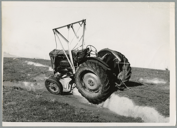 Testing a tractor