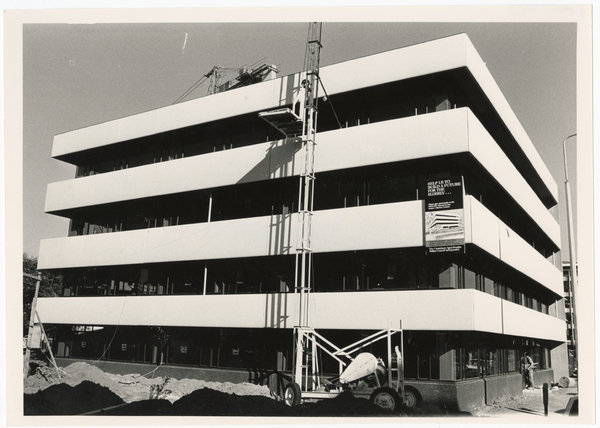 Construction of the Aged People's Welfare Council building