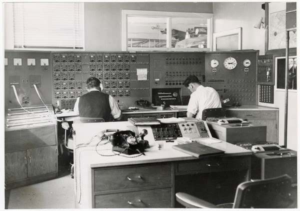 Kilmore Street fire station switchboard