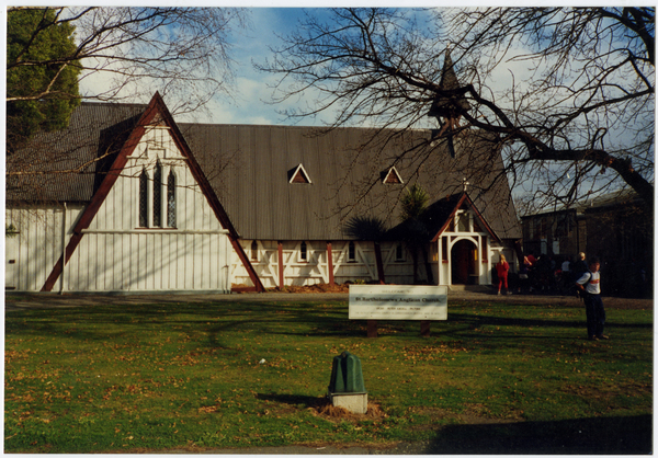 St Bartholomew's Anglican Church, Cass St, Kaiapoi