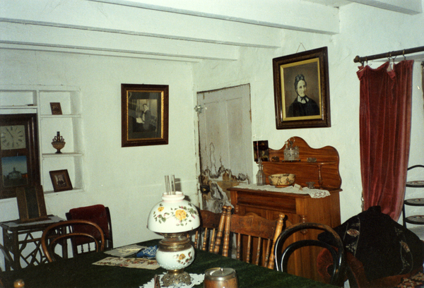 Interior of Tiptree Cottage