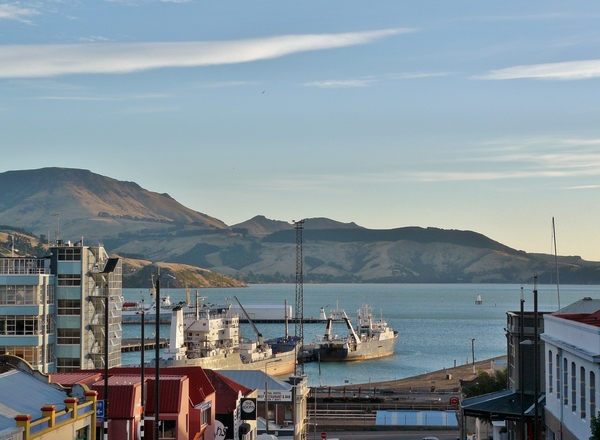 Lyttelton Harbour and port