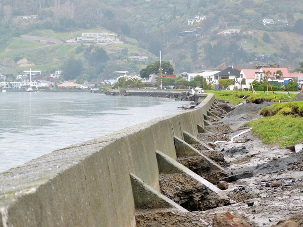 Beachville Road seawall