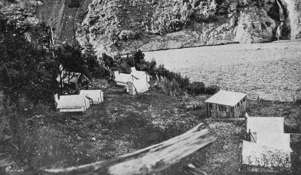 The Government camp at Broken River