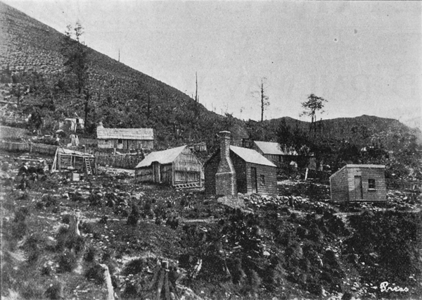 A settlement in Patterson's Creek
