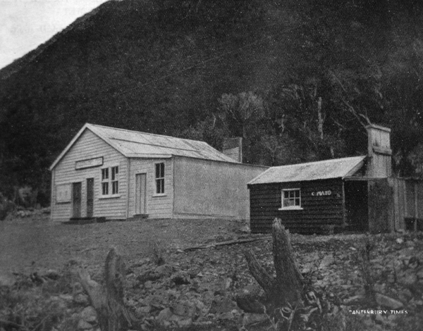 The business part of Otira