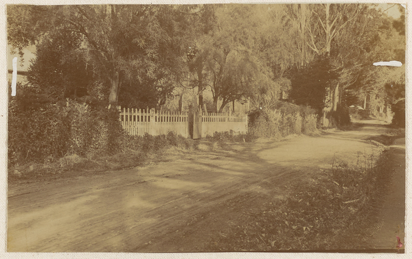 Gimblett's gate on Bridle Path Road, Heathcote