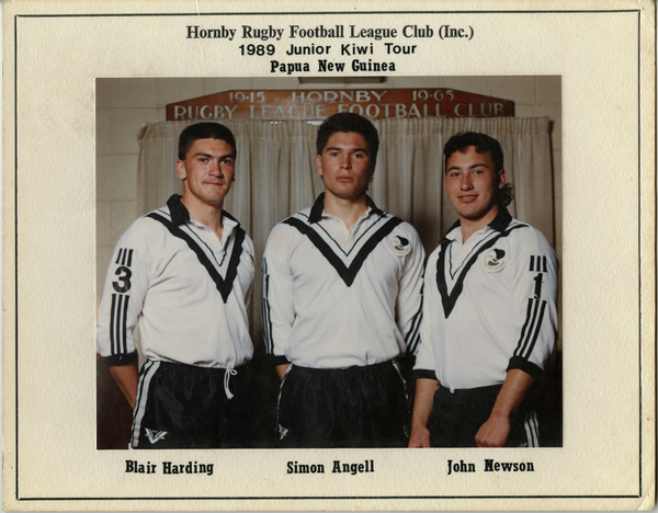 Hornby Rugby Football League Club, 1989
