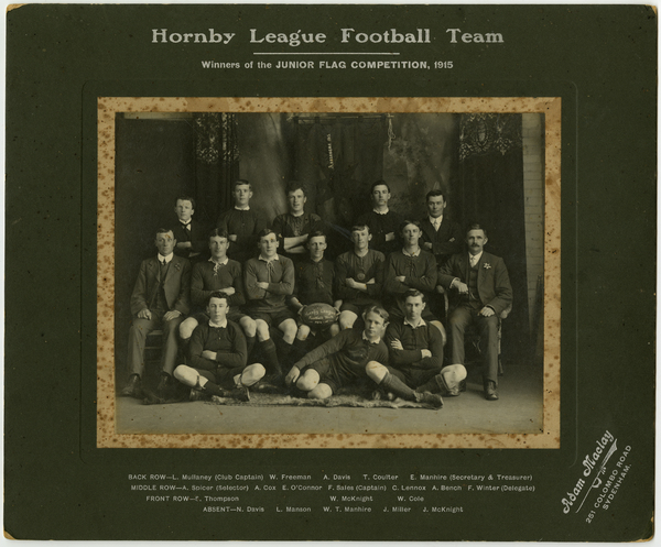 Hornby League Football Team, 1915