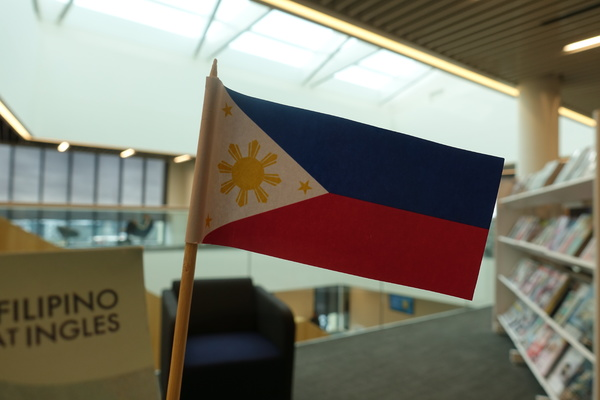 Book display - Flag of the Philippines