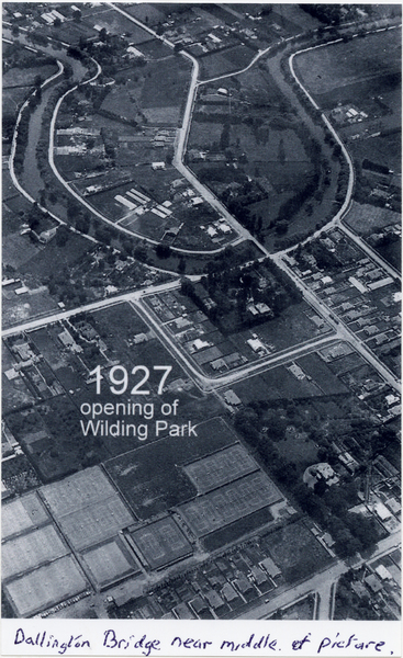 Opening of Wilding Park