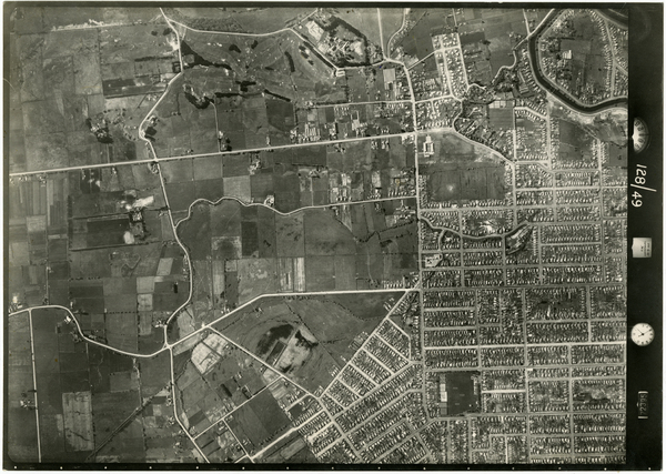 Aerial photograph of Shirley