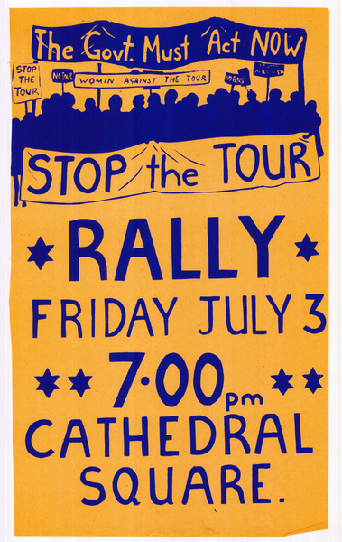 Stop the tour rally, Friday July 3