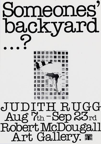 Judith Rugg - Someones [sic] back yard