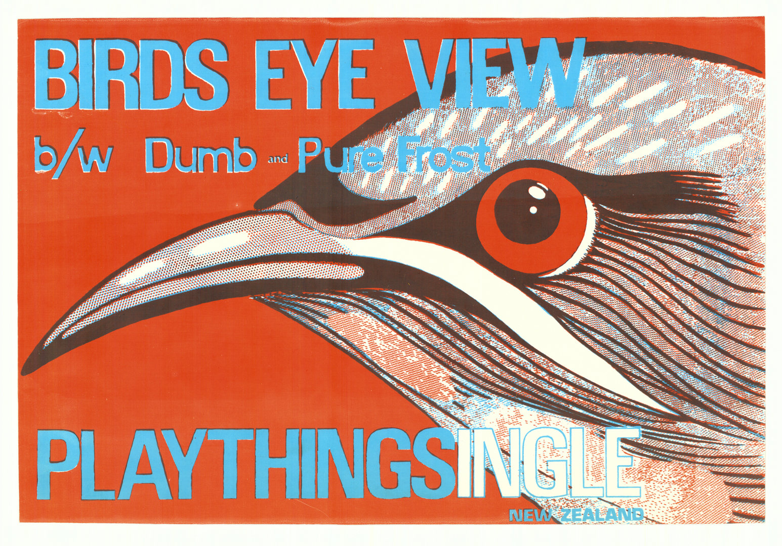 Birds eye view Playthings. In copyright. CCL-Posters-Music-80s-57