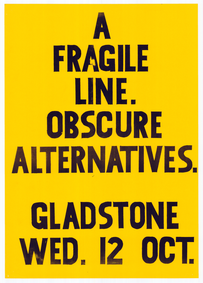 A fragile line. Obscure alternatives. CCL-Posters-Music-80s-63