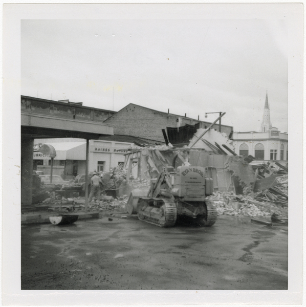 Demolition of former Municipal Electricity Department buildings