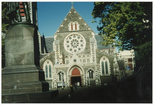 Entrance to ChristChurch Cathedral