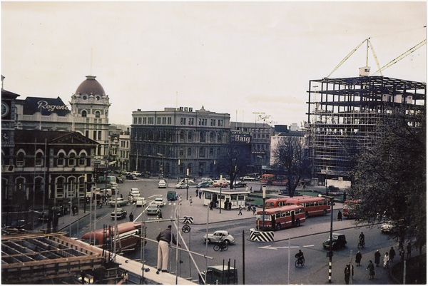 Construction in the Square