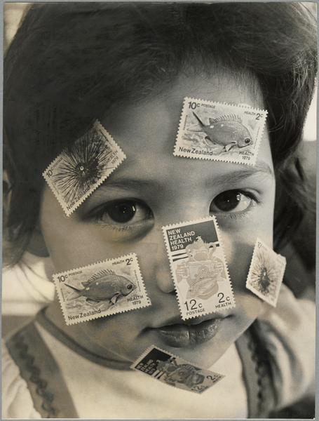 Joanne Redmond with health stamps