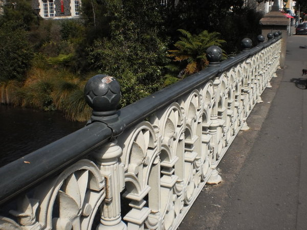 North Railing, Armagh Street Bridge