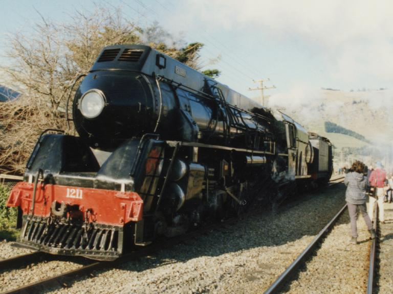 Image of a steam train